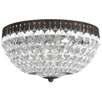 Schonbek 1562-76A Petit Crystal 5 Light 12 inch Heirloom Bronze Flush Mount Ceiling Light in Clear Spectra