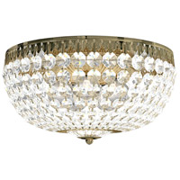Schonbek 1564-211A Petit Crystal 5 Light 14 inch Aurelia Flush Mount Ceiling Light in Spectra