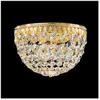 Petit Crystal 3 Light 8 inch Aurelia Flush Mount Ceiling Light in Clear Spectra
