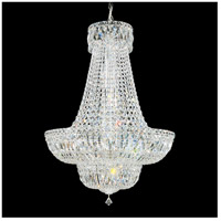 Petit Crystal Deluxe 23 Light 24 inch Silver Chandelier Ceiling Light in Clear Spectra