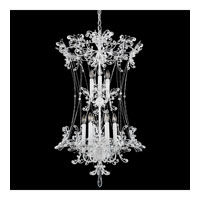 Schonbek Petite Laurelie 9 Light Chandelier in White and Crystal Swarovski Elements Trim PL6549N-36S