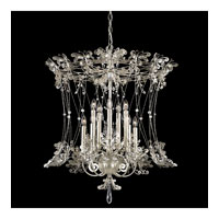 Schonbek Petite Laurelie 10 Light Chandelier in Antique Silver and Crystal Swarovski Elements Trim PL6552N-48S