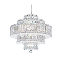 Schonbek Plaza 22 Light Pendant in Stainless Steel and Clear Spectra Crystal Trim 6673A