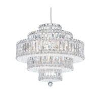 Schonbek 6673A Plaza 22 Light 21 inch Stainless Steel Pendant Ceiling Light in Spectra