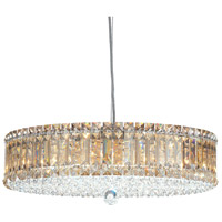 Schonbek 6672A Plaza 15 Light 21 inch Stainless Steel Pendant Ceiling Light in Clear Spectra