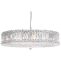 Schonbek 6674A Plaza 21 Light 25 inch Stainless Steel Pendant Ceiling Light in Clear Spectra