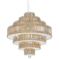 Schonbek 6675A Plaza 25 Light 25 inch Stainless Steel Pendant Ceiling Light in Clear Spectra