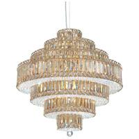 Schonbek 6675GS Plaza 25 Light 25 inch Stainless Steel Pendant Ceiling Light in Golden Shadow