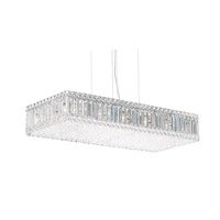 Quantum 17 Light 30 inch Stainless Steel Pendant Ceiling Light in Clear Spectra Crystal