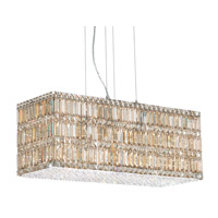 Schonbek Quantum 22 Light Pendant in Stainless Steel and Golden Shadow Swarovski Elements Trim 2283GS photo thumbnail