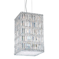 Schonbek Quantum 21 Light Pendant in Stainless Steel and Clear Spectra Crystal Trim 2288A photo thumbnail