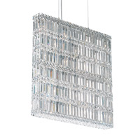 Schonbek Quantum 22 Light Pendant in Stainless Steel and Clear Spectra Crystal Trim 2294A
