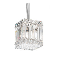 Schonbek Quantum 2 Light Pendant in Stainless Steel and Clear Spectra Crystal Trim 2245A