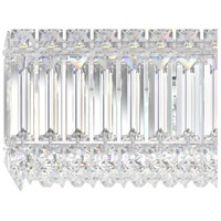 Schonbek 2224S Quantum LED 4 inch Stainless Steel Wall Bracket Wall Light in Clear Swarovski alternative photo thumbnail