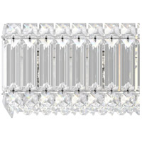 Schonbek 2225A Quantum LED 4 inch Stainless Steel Sconce Wall Light in Clear Spectra alternative photo thumbnail