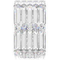 Schonbek 2235S Quantum LED 5 inch Stainless Steel Wall Sconce Wall Light in Swarovski