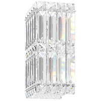 Schonbek 2235A Quantum LED 5 inch Stainless Steel Wall Sconce Wall Light in Clear Spectra alternative photo thumbnail