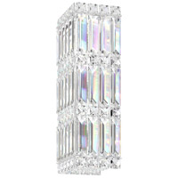Schonbek 2236S Quantum LED 5 inch Stainless Steel Wall Sconce Wall Light in Clear Swarovski alternative photo thumbnail