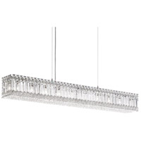 Quantum LED 41 inch Stainless Steel Pendant Ceiling Light in Clear Spectra