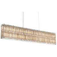 Schonbek 2267S Quantum 17 Light 47 inch Stainless Steel Pendant Ceiling Light in Clear Swarovski