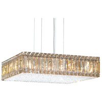 Schonbek 2272S Quantum 16 Light 20 inch Stainless Steel Pendant Ceiling Light in Clear Swarovski