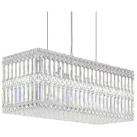 Schonbek 2280A Quantum 18 Light 24 inch Stainless Steel Pendant Ceiling Light in Clear Spectra
