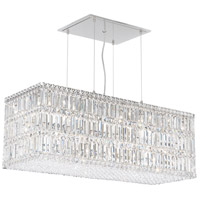 Schonbek 2281A Quantum 33 Light 37 inch Stainless Steel Pendant Ceiling Light in Clear Spectra