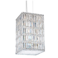Schonbek 2288S Quantum 21 Light 13 inch Stainless Steel Pendant Ceiling Light in Clear Swarovski