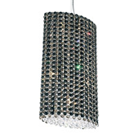 Refrax 6 Light 11 inch Stainless Steel Pendant Ceiling Light in Jaguar, Geometrix,Canopy Sold Separately