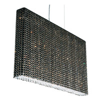 Schonbek Refrax 19 Light Pendant in Stainless Steel and Jaguar Swarovski Elements Trim RE3624JAG