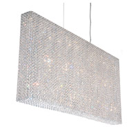 Schonbek Refrax 23 Light Pendant in Stainless Steel and Clear Spectra Crystal Trim RE4824A
