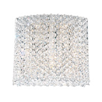 Refrax 5 Light 4 inch Stainless Steel Wall Sconce Wall Light in Clear Spectra Crystal