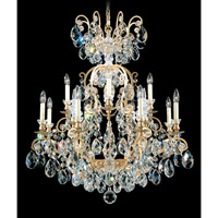 Renaissance 13 Light 32 inch Heirloom Gold Chandelier Ceiling Light in Clear Heritage Handcut