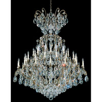 Schonbek Renaissance 41 Light Chandelier in Etruscan Gold and Clear Heritage Handcut Trim 3775-23