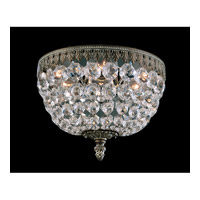 Schonbek Rialto 3 Light Wall Sconce in Parchment Bronze and Swarovski Crystal 5055-74A