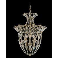 Rivendell 4 Light 15 inch Etruscan Gold Pendant Ceiling Light in Clear Swarovski Elements
