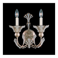 Schonbek Rivendell 2 Light Wall Sconce in Tourmaline and Strass Crystal 7856-82S photo thumbnail
