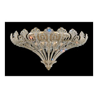Schonbek Rivendell 12 Light Flush Mount in Silvergild and Clear Spectra Crystal Trim 7860-91A photo thumbnail