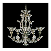 Schonbek Rivendell 5 Light Chandelier in Bronze Umber and Strass Crystal 7862-75S