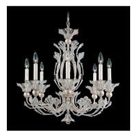 Schonbek Rivendell 8 Light Chandelier in Antique Silver and Crystal Swarovski Elements Trim 7866-48S photo thumbnail