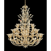 Schonbek Rivendell Chandelier in Heirloom Gold and Crystal Swarovski Elements Trim 7868-22S