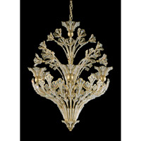 Schonbek Rivendell 12 Light Chandelier in Heirloom Gold and Crystal Swarovski Elements Trim 7883-22S