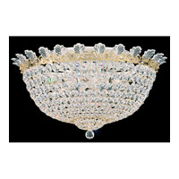 Roman Empire 10 Light 21 inch Polished Gold Flush Mount Ceiling Light in Clear Spectra Crystal