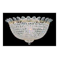 Schonbek Roman Empire 13 Light Flush Mount in Polished Gold and Clear Spectra Crystal Trim 3704-20A photo thumbnail