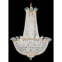 Roman Empire 16 Light 21 inch Polished Gold Chandelier Ceiling Light in Clear Spectra Crystal