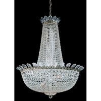 Schonbek Roman Empire 28 Light Chandelier in Etruscan Gold and Clear Spectra Crystal Trim 3720-23A