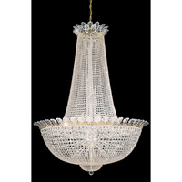 Schonbek 3724-20S Roman Empire 58 Light 51 inch Polished Gold Chandelier Ceiling Light in Clear Swarovski Elements