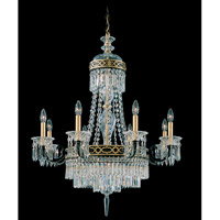 Schonbek Romanoff 10 Light Chandelier in Black and Clear Heritage Handcut (H) Trim 5717-51 photo thumbnail