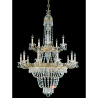 Schonbek Romanoff 20 Light Chandelier in Heirloom Gold and Clear Heritage Handcut (H) Trim 5718-22 photo thumbnail