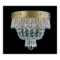 Schonbek Romanoff 4 Light Flush Mount in Heirloom Gold and Clear Heritage Handcut (H) Trim 5722-22 photo thumbnail